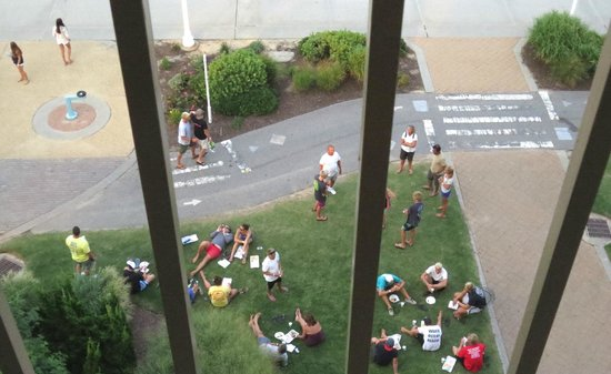 Best Western Plus Virginia Beach: Balcony floor