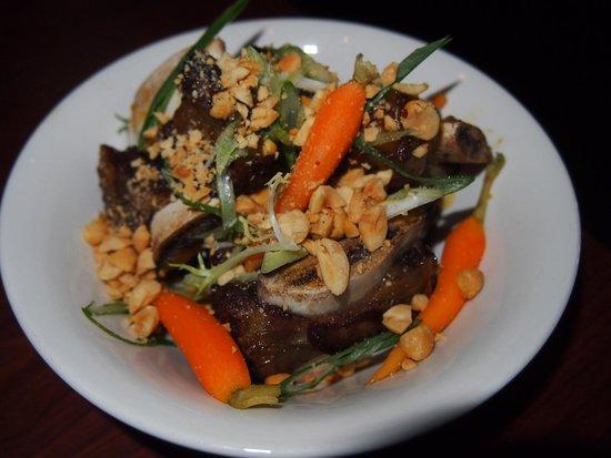 Momofuku Ssam Bar: Fried beef short ribs