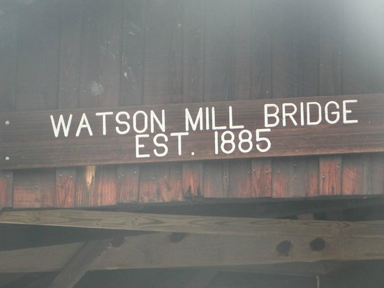 Watson Mill Bridge State Park: That's Old !