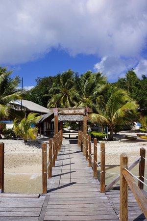 Hideaway Island Resort: Arrival