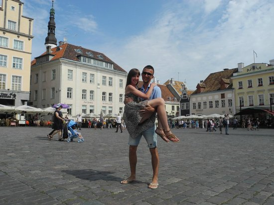 Rathausplatz: площадь