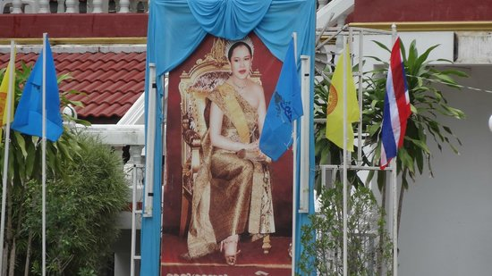 Baan Halle Hallo : royalty picture , from the temple close to hotel