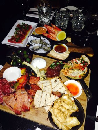 Miss Moneypenny's: Seafood and charcuterie board, so fresh and tasty. Great value for money, so much food!! Love!!
