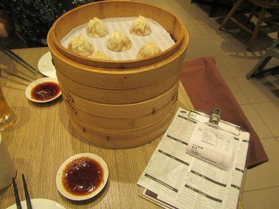 Din Tai Fung (Marina Bay Link Mall): Pork Dumplings,  Xiao Long Bao.   Truely Excellent