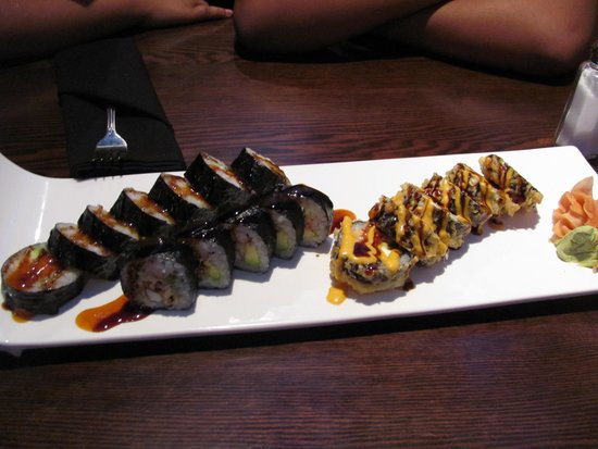 Urban Japanese Fusion Cuisine: Sushi platter