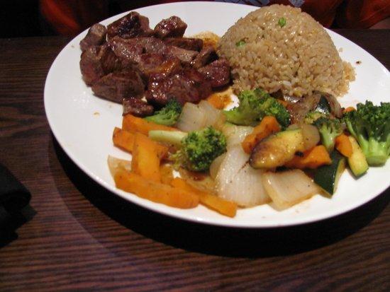 Urban Japanese Fusion Cuisine: Kid's Hibachi steak dinner