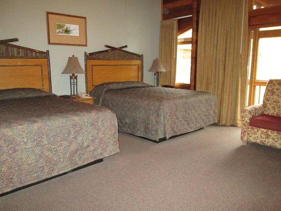 Kenai Princess Wilderness Lodge: our room