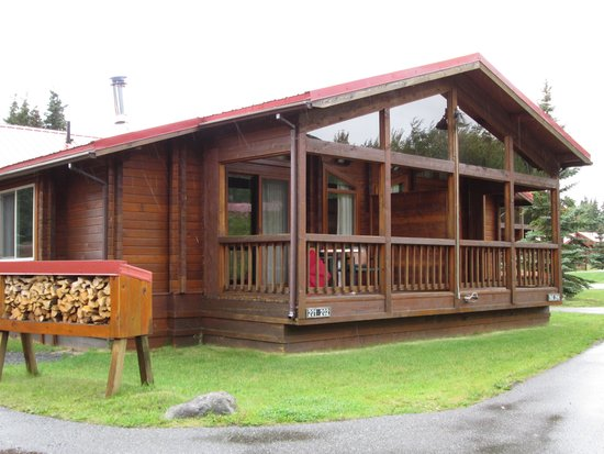 Kenai Princess Wilderness Lodge: our cabin