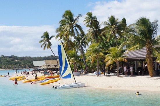 Plantation Island Resort : Main Beach