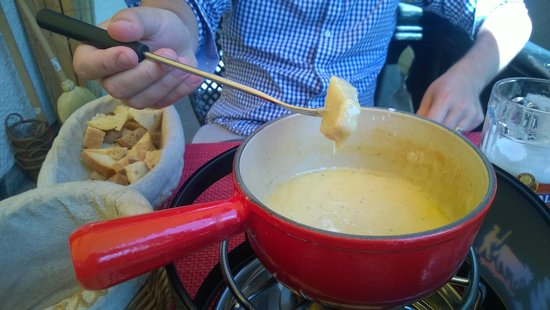 Restaurant Stadel : Delicious fondue!