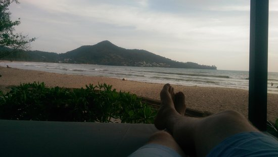 Novotel Phuket Kamala Beach : Enjoying the view from a beachside cabana