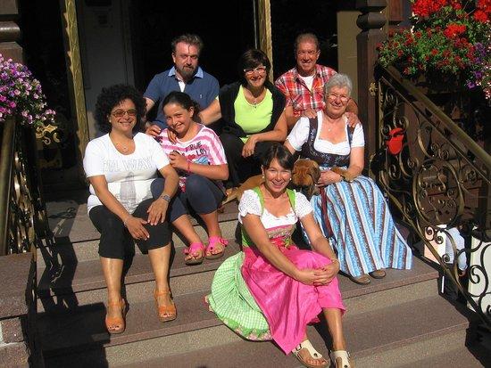 Relais Hotel Des Alpes: noi con la fam. Brunnel