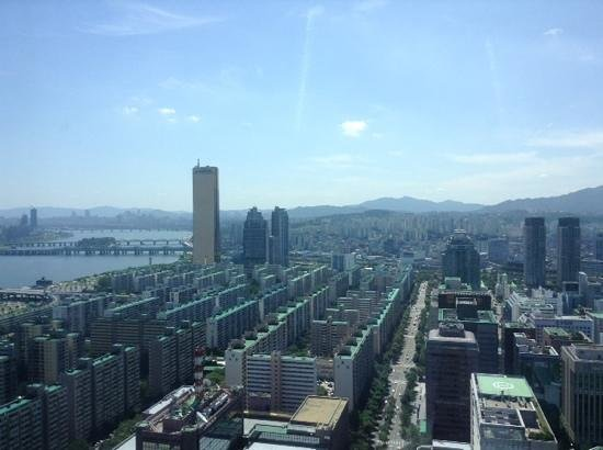 Conrad Seoul : view from a room on the 31st floor