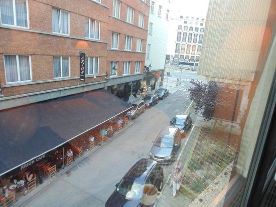 NH Brussels City Centre: Vista desde la habitacion