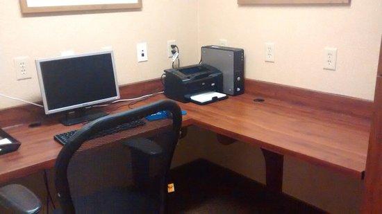 BEST WESTERN PLUS River Escape Inn & Suites: Business center.