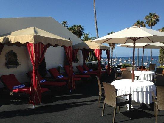 Portofino Hotel: Rooftop deck