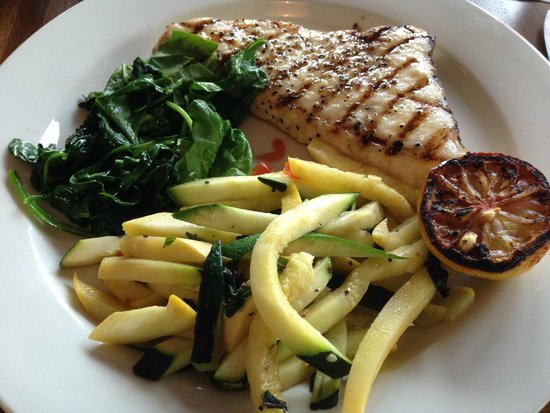 Bluewater Avalon Seafood Restaurant : Grilled Swordfish
