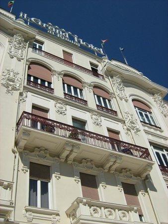 Grand Hotel Rimini: Фасад отеля