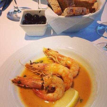 Monte Belvedere by Shiadu : shrimp dish at Monte Belvedere