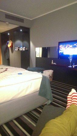 Radisson Blu Hotel Dortmund : Zimmer