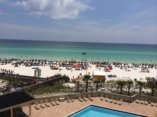 Beachside Towers at Sandestin : View from the 5th floor Beachside II
