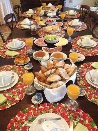 Casa D'Obidos : Un petit déjeuner inoubliable!