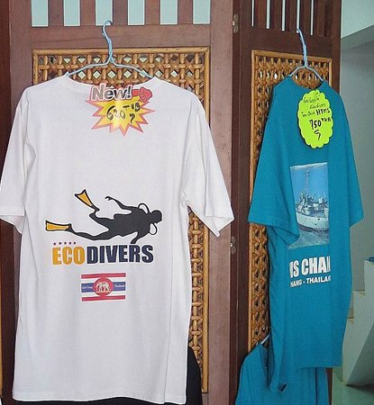 Eco-Divers: Nouveaux tee shirts !