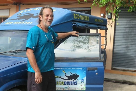 Eco-Divers: Fabrice manager