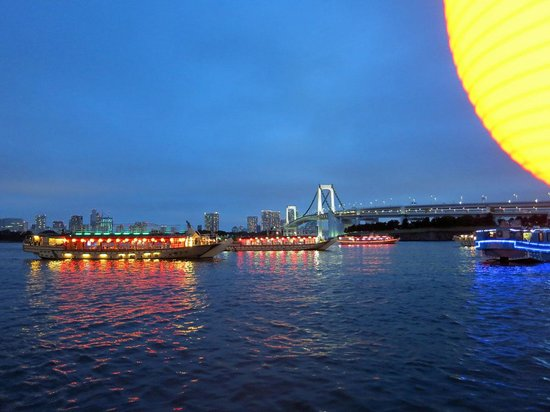 Tokyo Bay Yakatabune Boat: 屋形船