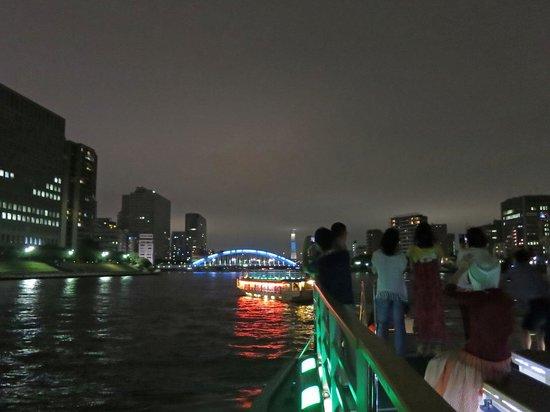 Tokyo Bay Yakatabune Boat: 永代橋