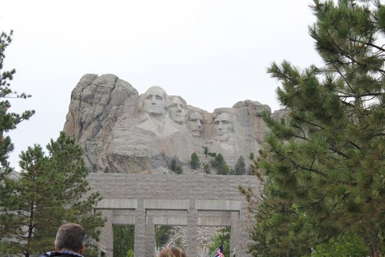 Mount Rushmore National Memorial: The four presidents