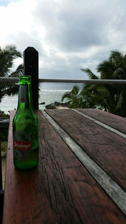 Whatever Bar and Grill: The view up here is what raro is about.