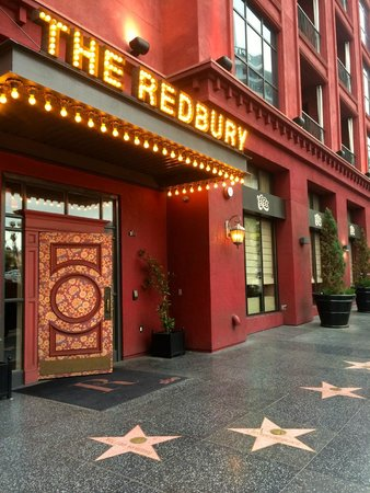 The Redbury Hollywood : Entrance to Hotel