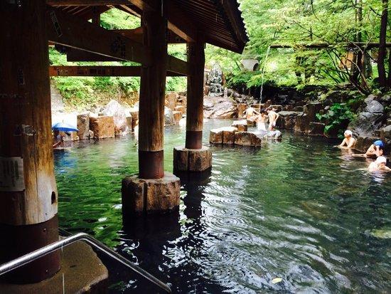 Takaragawa Onsen : Baños termales (Spa)