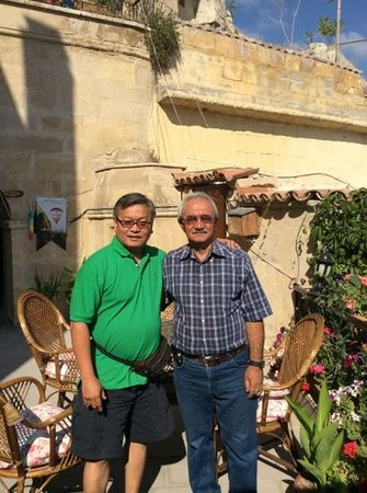Dedeli Konak Cave Hotel: Mr Farouk and I