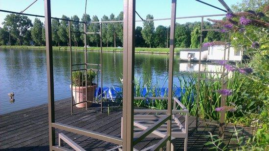 Tulip Inn Amsterdam Riverside: Чудесный пруд