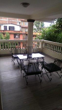 Hotel Yambu: Beautiful Balcony