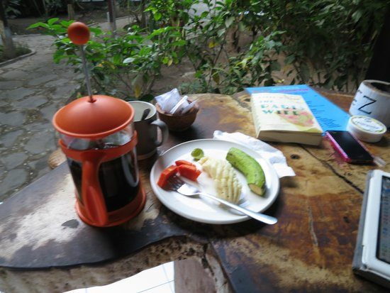 Wood Stock Home Stay : Part of breakfast