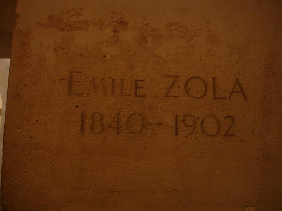 Pantheon: Emile Zola