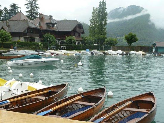 Lac d'Annecy : Talloires