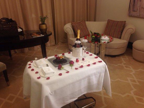The St. Regis Doha: Sorpresa per il mio compleanno da parte dello staff