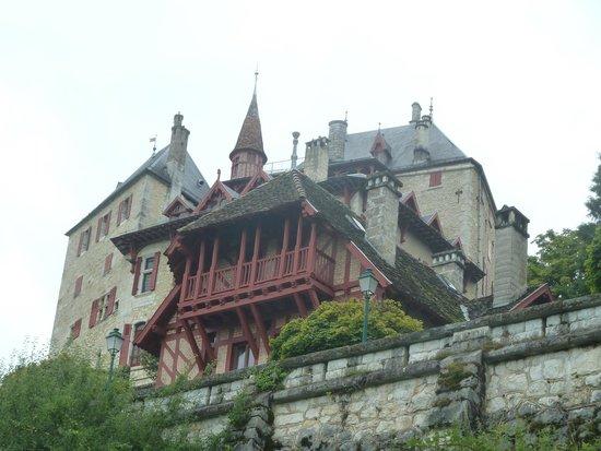 Lac d'Annecy : Château Menthon Saint-Bernard