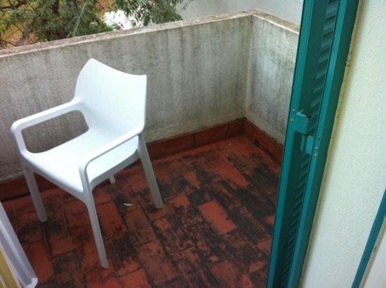 Prainha Clube: Apartamento cochambre
