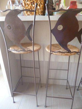 Petit Hotel Marseillan: Küche
