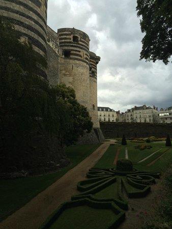 Castle of Angers: extérieur