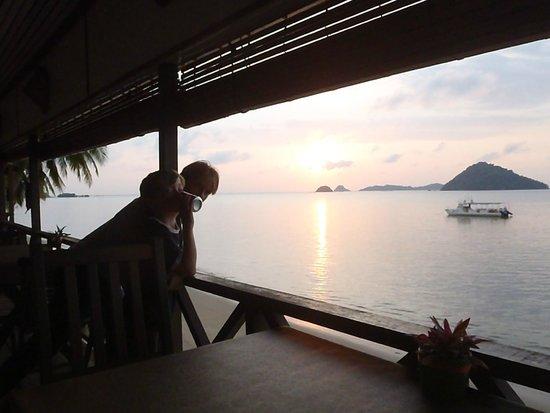 Seaside Travellers Inn: The outstanding view