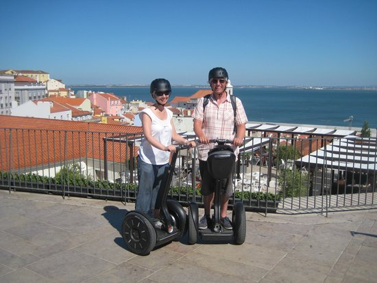 Lisbon by Segway : Lots of fun
