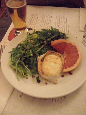 Cafe Louvre: formaggio arrostito