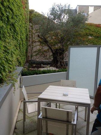 Le Rexhotel: Terrasse de la chambre 215