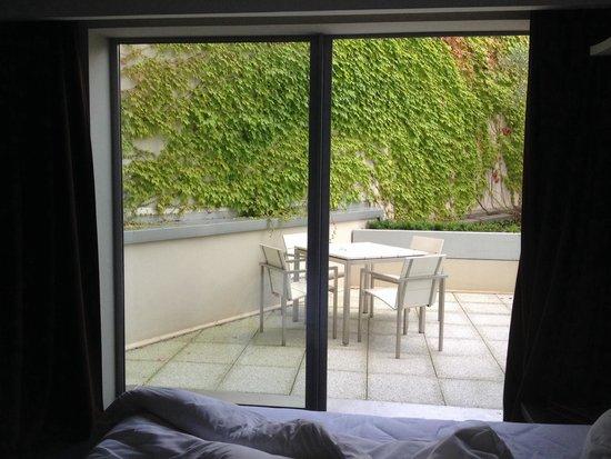 Le Rexhotel: Terrasse chambre 215